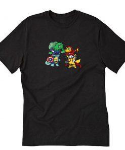 Pokemon Go Marvel T-Shirt PU27