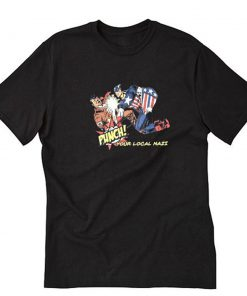 Punch Your Local Nazi T-Shirt PU27